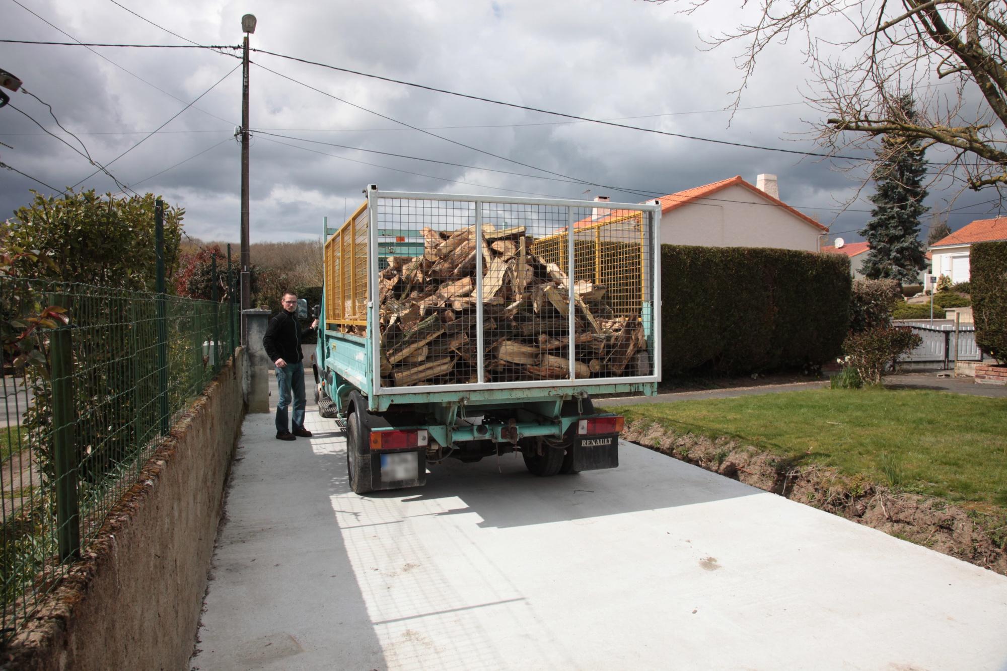 Livraison de bois en Vendée