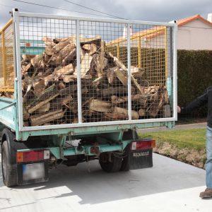 Livraison à domicile de bois en Vendée