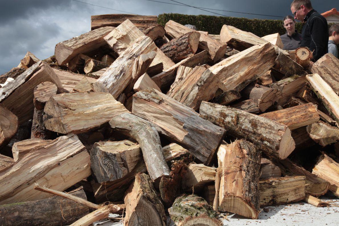Livraison de bois de chauffage sur site chez vous