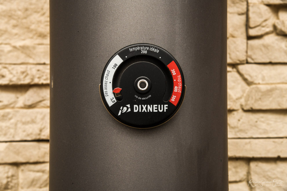 Thermomètre pour mesurer le rendement de votre poêle à bois